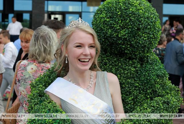 Могилевские лицеисты отпраздновали выпускной
