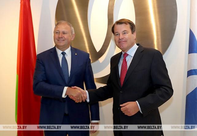 Румас встретился с первым вице-президентом ЕБРР