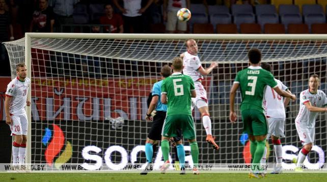 Белорусские футболисты потерпели четвертое поражение в квалификации Евро-2020