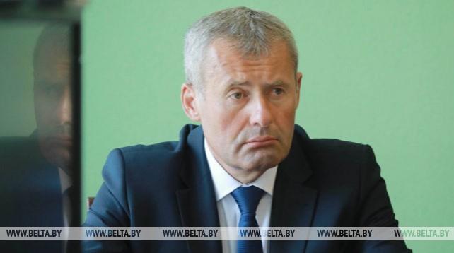 Новый председатель Могилевского райисполкома Олег Чикида представлен активу и депутатам района