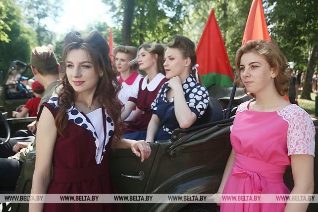 """Гродно встретил молодежный марафон """"75"""""""