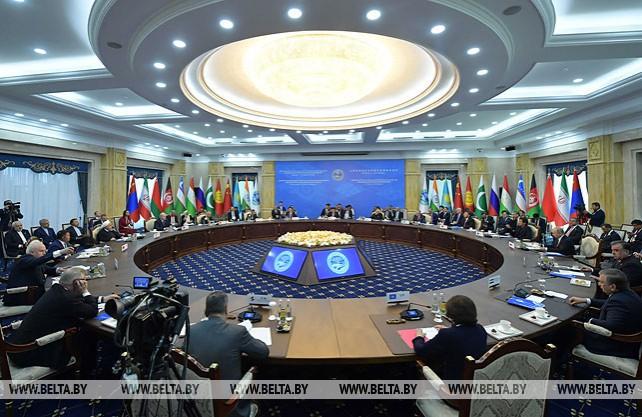 Лукашенко принял участие в саммите Шанхайской организации сотрудничества