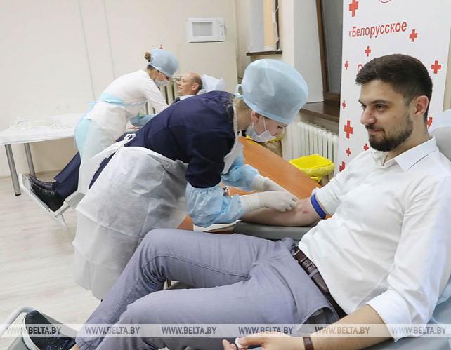 Благотворительная акция по продвижению безвозмездного донорства крови прошла в Минске