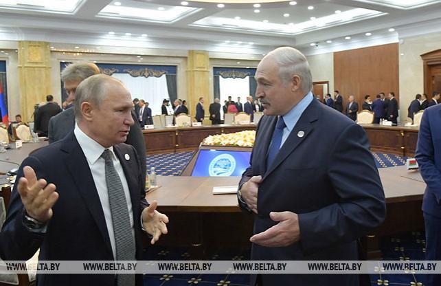 Лукашенко на полях саммита ШОС провел ряд двусторонних встреч
