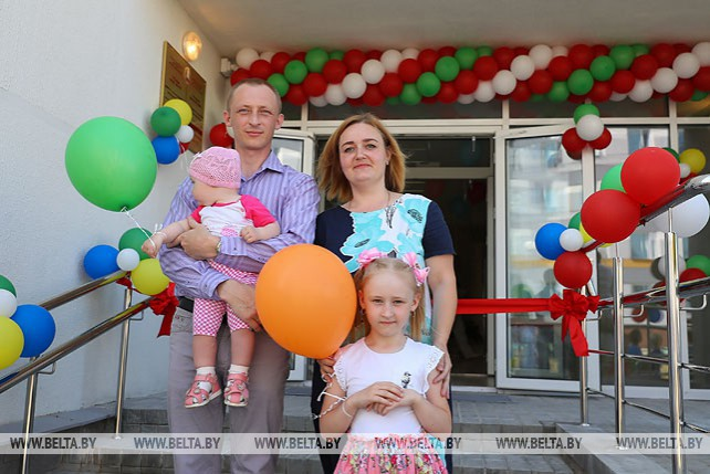 Общежитие для медиков открыли в Минском районе