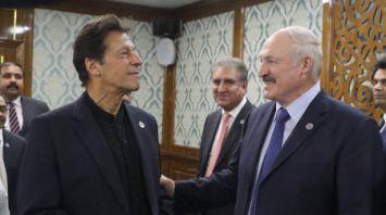 Лукашенко встретился с премьер-министром Пакистана
