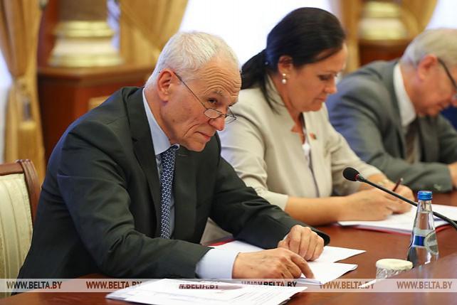 Заседание Совета Парламентского собрания Союза Беларуси и России прошло в Минске