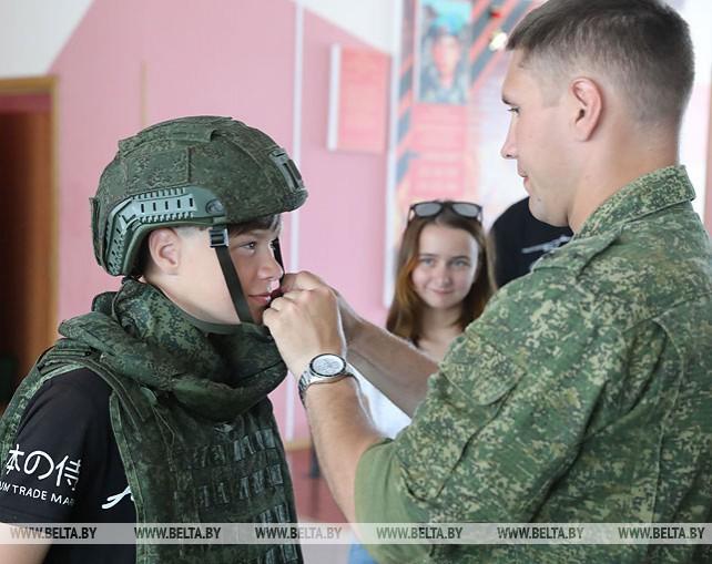Витебские правоохранители организовали лагерь для трудных подростков