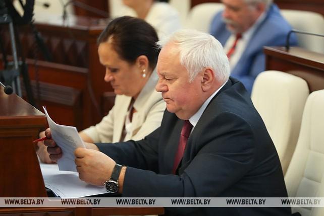 Сессия Парламентского собрания Союза Беларуси и России проходит в Минске