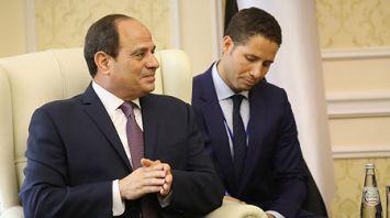 Румас встретился с Президентом Египта