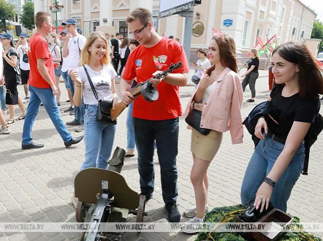 """Молодежный марафон """"75"""" прибыл в Могилевскую область"""