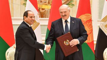 Лукашенко и Абдель Фаттах ас-Сиси подписали ряд документов по итогам встречи