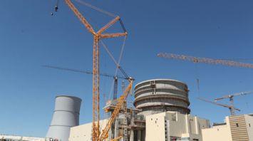 Продолжается строительство БелАЭС