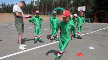 Мясникович ознакомился с работой лыжероллерной трассы в Барановичском районе