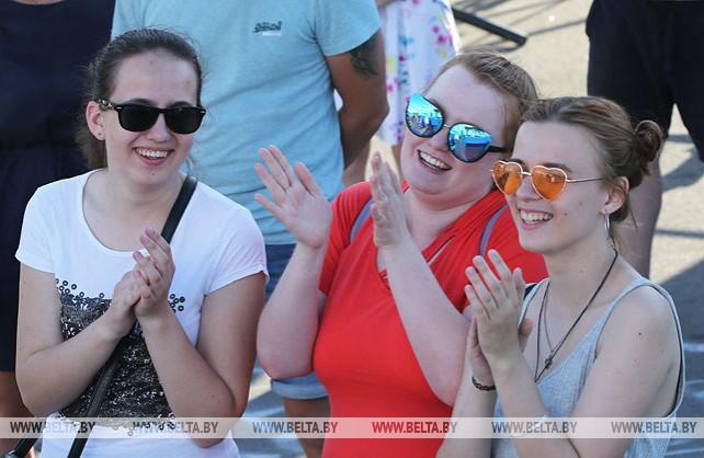 Главная фан-зона II Европейских игр открылась у Дворца спорта в Минске