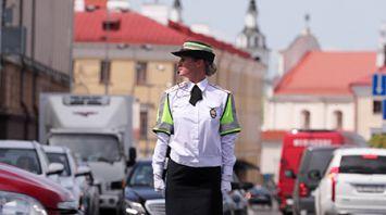 Девушки-регулировщицы будут дежурить на улицах Минска во время Европейских игр