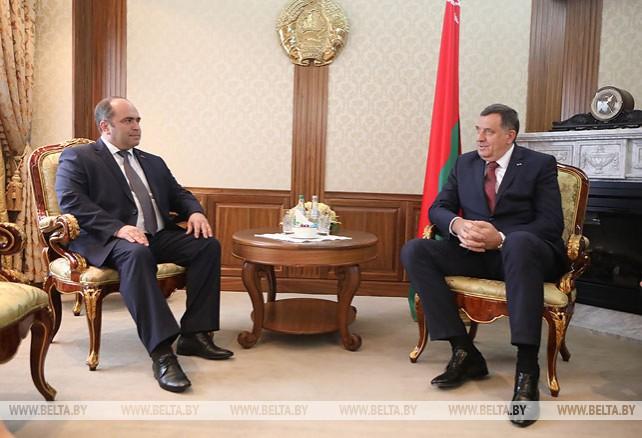 Председатель Президиума Боснии и Герцеговины прибыл в Беларусь