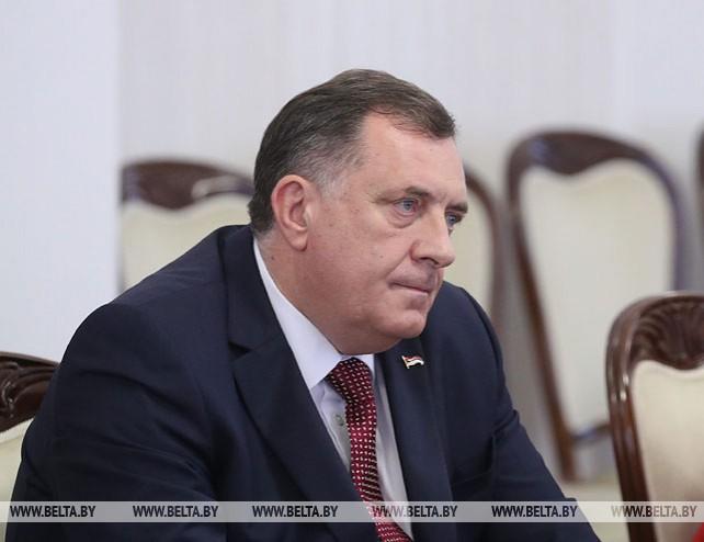 Румас встретился с председателем Президиума Боснии и Герцеговины