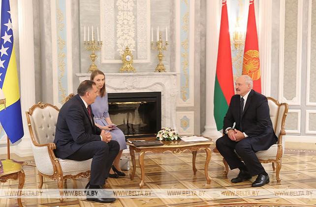 Лукашенко встретился с Председателем Президиума Боснии и Герцеговины Милорадом Додиком