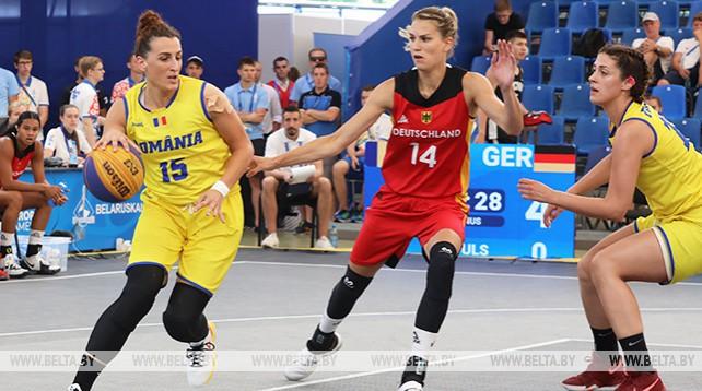 Баскетболистки Германии победили румынок на старте II Европейских игр