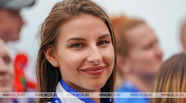 В Деревне спортсменов подняли белорусский флаг