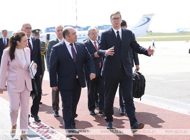 Президент Сербии прибыл в Беларусь
