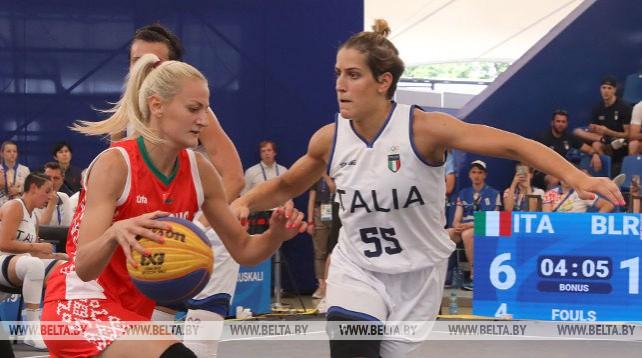 Белорусские баскетболистки победили итальянок в стартовом матче II Европейских игр