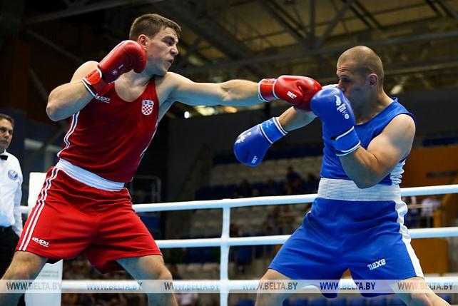 Соревнования по боксу проходят на II Европейских играх
