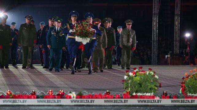 Митинг-реквием прошел в Брестской крепости