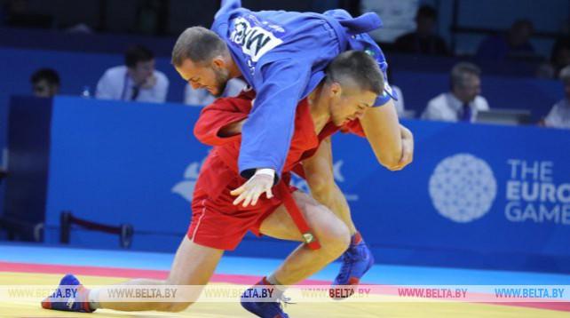 Соревнования по самбо стартовали на II Европейских играх