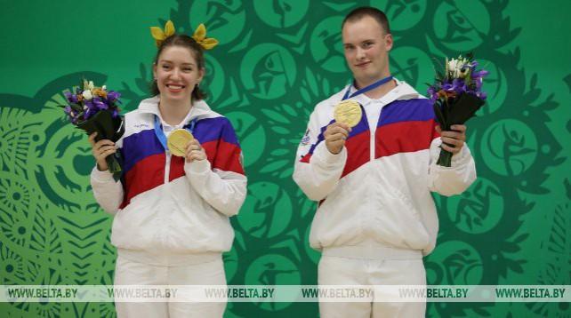 Российские стрелки стали первыми чемпионами II Европейских игр в Минске