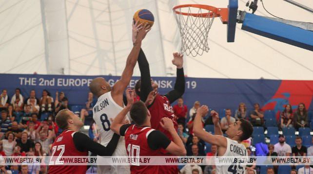 Турнир по баскетболу продолжается на II Европейских играх