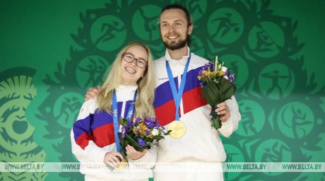Российский дуэт завоевал золото в стрельбе из пневматической винтовки