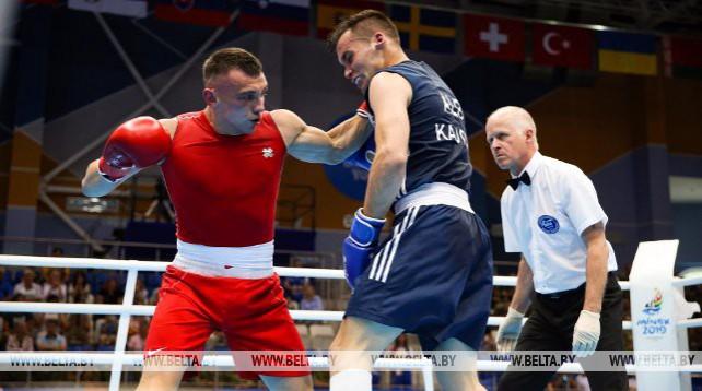 Белорусская сборная дебютировала на соревнованиях по боксу II Европейских игр
