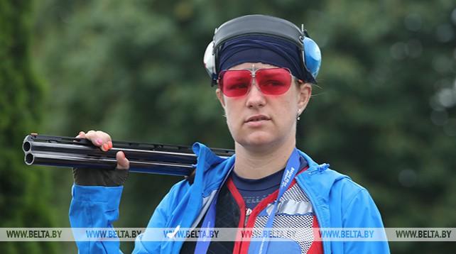 Соревнования по стендовой стрельбе проходят на II Европейских играх
