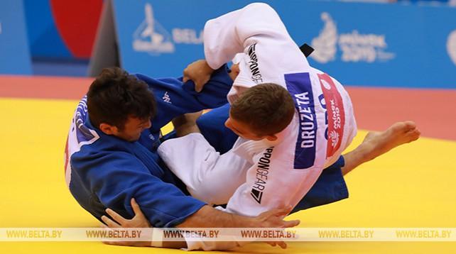 Соревнования по дзюдо проходят на II Европейских играх