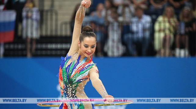 Екатерина Галкина выиграла серебро II Европейских игр в упражнении с обручем