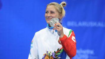 Белорусская самбистка Марина Жарская стала серебряным призером II Европейских игр
