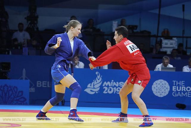 Белорусская самбистка Вера Гореликова выиграла турнир II Европейских игр