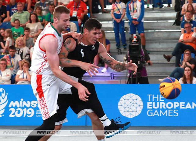 Белорусы вышли в 1/4 финала турнира по баскетболу 3х3 II Европейских игр