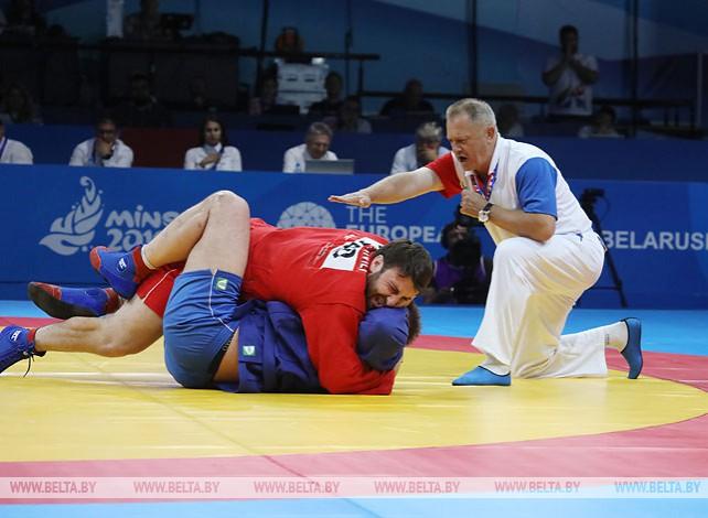 Белорусские самбисты завоевали серебряные медали на II Европейских играх