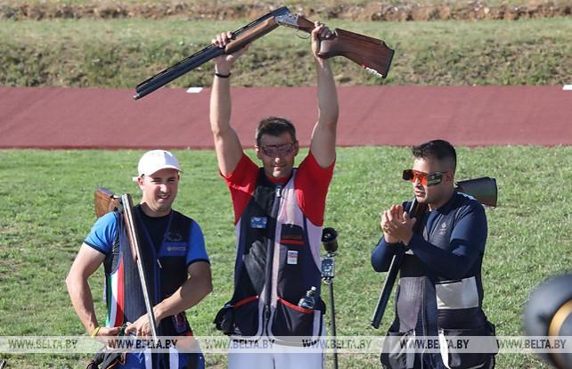 Давид Костелецкий из Чехии победил в стендовой стрельбе на II Европейских играх