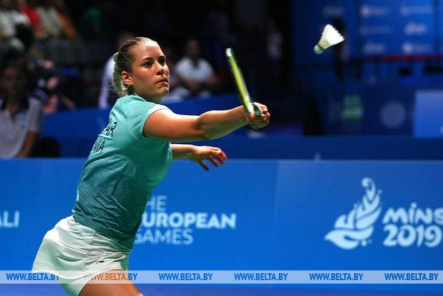Турнир бадминтонистов стартовал на II Европейских играх