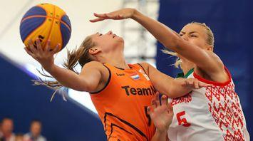 Белорусские баскетболистки вышли в полуфинал II Европейских игр
