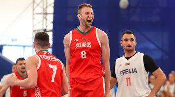 Белорусы вышли в полуфинал баскетбольного турнира Европейских игр