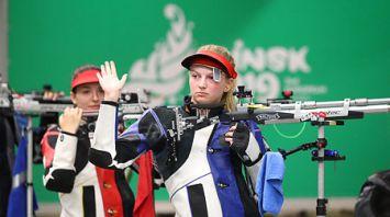 Белоруска Мария Мартынова заняла шестое место в стрельбе из винтовки на II Европейских играх