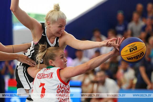 Белорусские баскетболистки не вышли в финал и поспорят за бронзу II Европейских игр