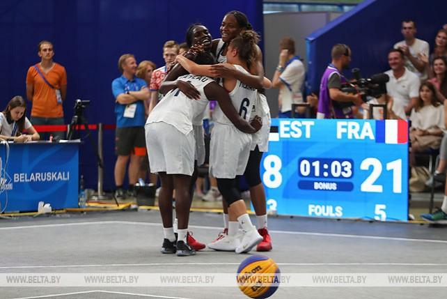Французские баскетболистки завоевали золото II Европейских игр