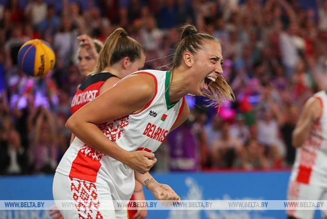 Белорусские баскетболистки завоевали бронзу на II Европейских играх