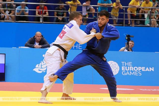 Пять комплектов наград разыграно в соревнованиях по дзюдо на II Европейских играх